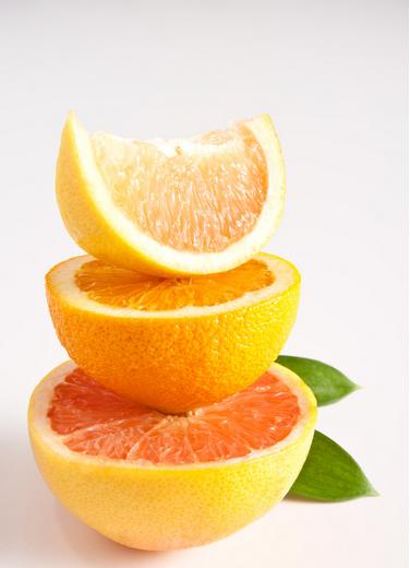 """名优果品的""""果交会""""上的赣南脐橙"""