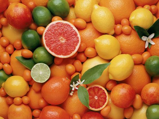 比较畅销的橘类水果有来自赣南的脐橙